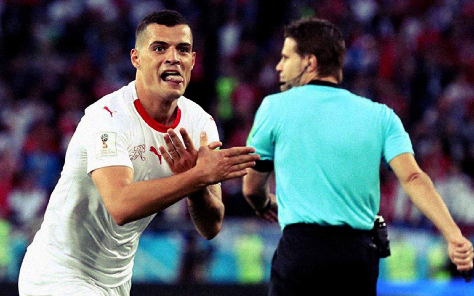 Serbia 1-2 Suiza