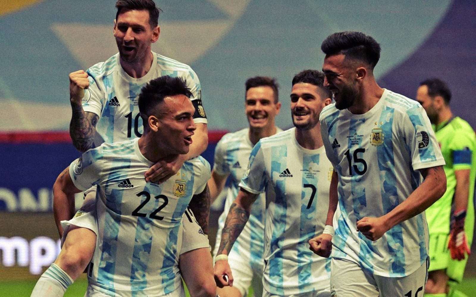 Argentina (3)1-1(2) Colombia